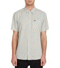 volcom men's sun medallion shirt