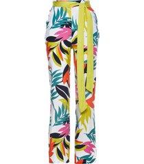 pantaloni a palazzo in viscosa (bianco) - bpc selection