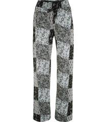 pantaloni di jersey in mix di fantasie (nero) - bpc bonprix collection