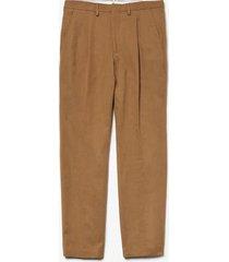 pantalón marrón lacoste