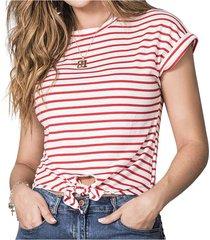 blusa naomi rojo para mujer croydon