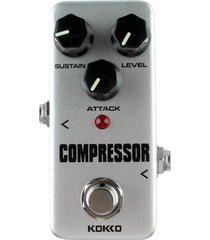 kokko fcp2 mini monoblock compressor pedal de efectos para guitarra electrica (gris)