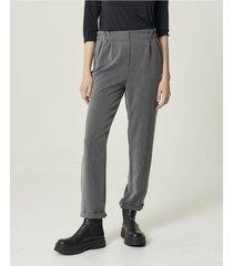 pantalón gris portsaid twill viscosa decker