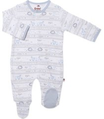 baby boy catch a star magnetic footie one piece