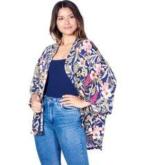 kimono azul skanda nora
