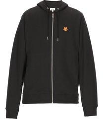 kenzo tiger crest hooded sweatshirt