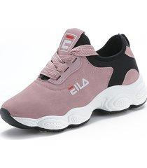 plataforma de mujer 's low low student zapatillas deportivas clásicas depor