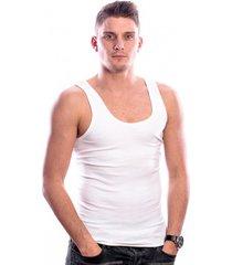 beeren bodywear singlet white (3 pack)