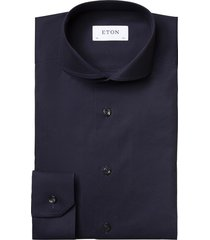 eton overhemd navy