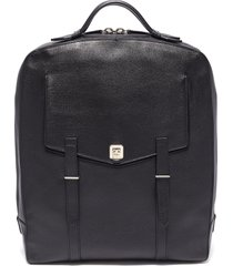 'rider' buffalo leather backpack