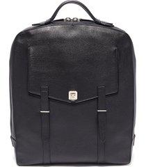'rider' buffalo leather backpack