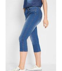 afkledende capri-jeans