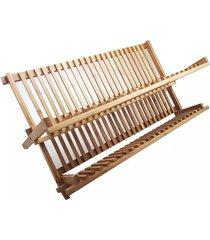 escorredor de pratos bamboo le 50cm