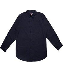 camisa a cuadros azul soviet