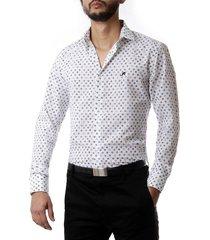 camisa blanca no end circulos