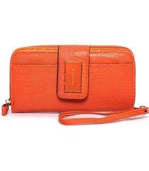 billetera naranja tropea theresa