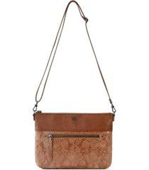 the sak oleta leather crossbody clutch