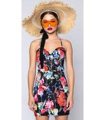 akira camellia mini dress