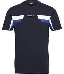 el fellion tee t-shirts short-sleeved blå ellesse