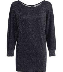 maglia in lurex con maniche a pipistrello (argento) - bodyflirt