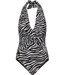 twist 1pcs badpak badkleding zwart michael kors swimwear