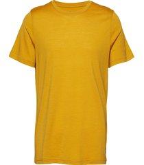 oslo wool tee t-shirts short-sleeved gul bergans