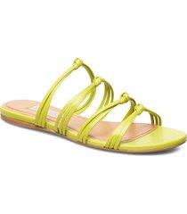 opra, 830 opra sandal shoes summer shoes flat sandals grön stine goya