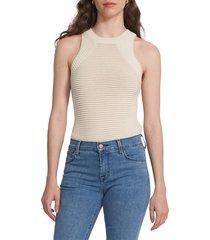 j brand women's selena mid-rise crop bootcut jeans - vivacious - size 29 (6-8)