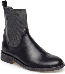 7317 shoes chelsea boots ankle boots ankle boot - flat svart angulus