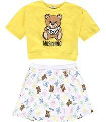 moschino teen skirt sets