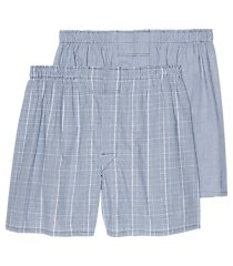 jos. a. bank plaid woven boxers, 2-pack