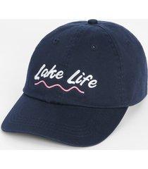 maurices womens lake life navy blue baseball hat
