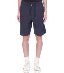 maharishi shorts in blue cotton