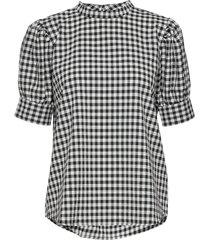 seer adelaia blouse blouses short-sleeved zwart bruuns bazaar
