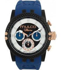 reloj ilusion lincoln azul mulco