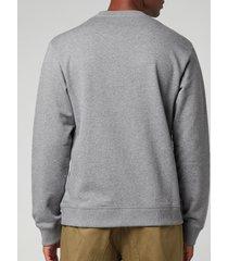 kenzo men's tiger original sweatshirt - dove grey - xxl