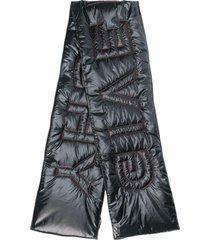 givenchy oversized padded scarf - black