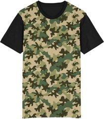 camiseta tshirt migian camuflada camo sublimada verde