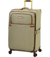 "london fog oxford ii 29"" softside check-in spinner, created for macy's"