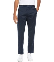 men's big & tall bonobos weekday warrior athletic stretch dress pants, size 40 x 36 - blue