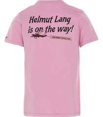 helmut lang heads up capsule saintwoods t-shirt