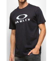 camiseta oakley o-bark ss preta masculina
