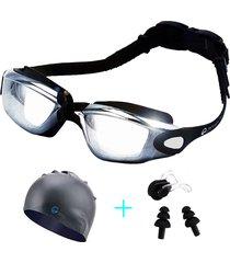 occhialini da nuoto all'aperto da uomo donna occhiali da vista anti-fog di grande dimensione