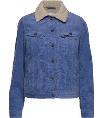 sherpa rider jeansjack denimjack blauw lee jeans