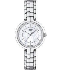 reloj tissot flamingo t094.210.11.111.00 mujer