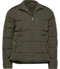 blain lt down jacket gevoerd jack groen morris