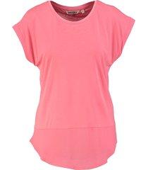 garcia zacht soepel shirt pink glaze