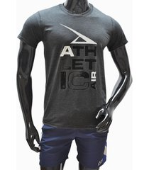 ***camiseta tshirt-gris-negra athletic air m