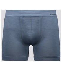 cueca boxer selene sem costura 40mm azul