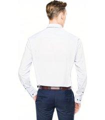 koszula bexley 2625 długi rękaw custom fit niebieski